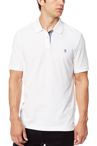Original Penguin Edmonton Polo in White