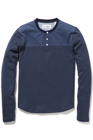 Original Penguin Jackson Henley in Navy