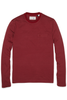 Original Penguin Quintin L/S Tee in Wine