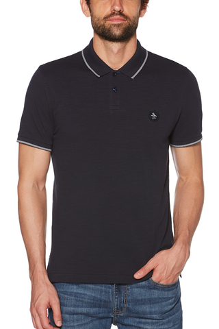 Original Penguin William Polo in Navy