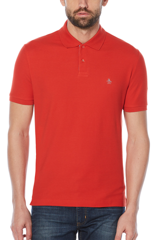 Original Penguin Hillview Polo in Red