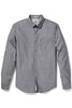 Original Penguin Duncan L/S Shirt in Grey