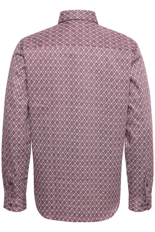 Matinique Marc L/S Shirt in Maroon