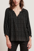 Velvet Tegan Blouse in Dot