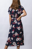 Effie Dress in Navy