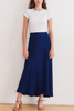Velvet Barcelona Skirt in Royal