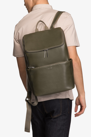 Matt & Nat Dean Backpack in Olive