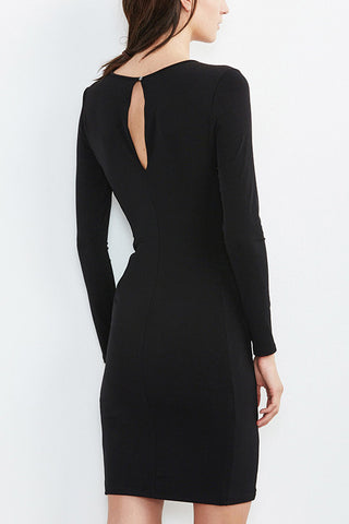 Velvet Take It Slow Dress in Black