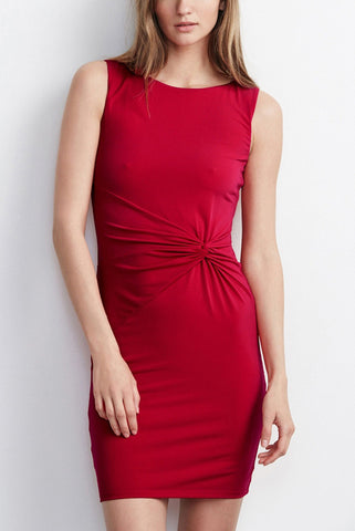 Velvet Night Like This Dress in Rouge