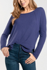 Brooklyn Sweater in Violet