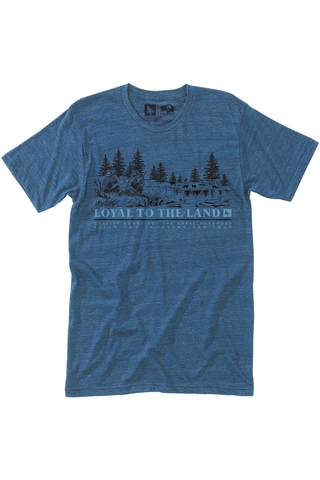 Tracker Tee in Navy