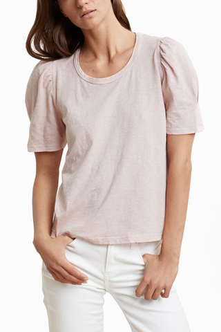 Velvet Astana Top in Blush
