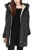 Soia & Kyo Savana Down Coat in Black