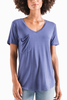 Z Supply Sleek Pocket Tee in Coast