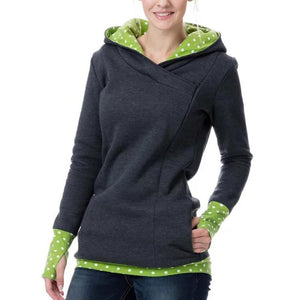 Thickening Lactation Maternity Hoodie Sweater