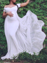 Load image into Gallery viewer, Maternity Casual Pure Color Dress