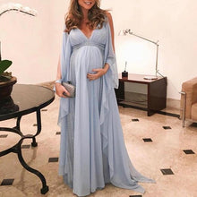 Load image into Gallery viewer, Maternity V Neck Photoshoot Dress