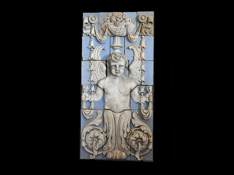 Large 15 Block Putti or full bodied Cherub. Circa 1917