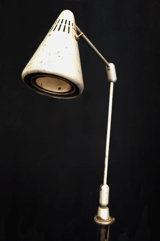 Work Table Shop Light - modified to Floor Lamp c.1965