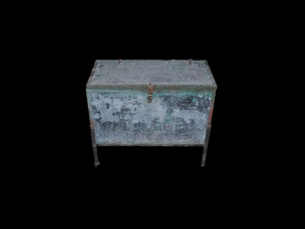 Galvanized Chocolate Factory Equipment Chest