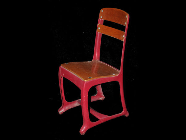 Red American Seating Church/School Chair