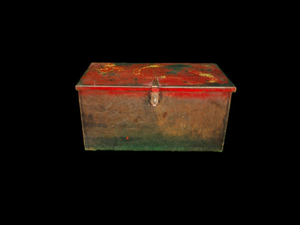 Red Shop Built Tool Box
