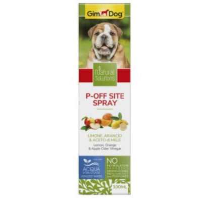 Gimdog P off Site Spray with Lemon,Orange and Apple Cider Vinegar for dogs 100 ml