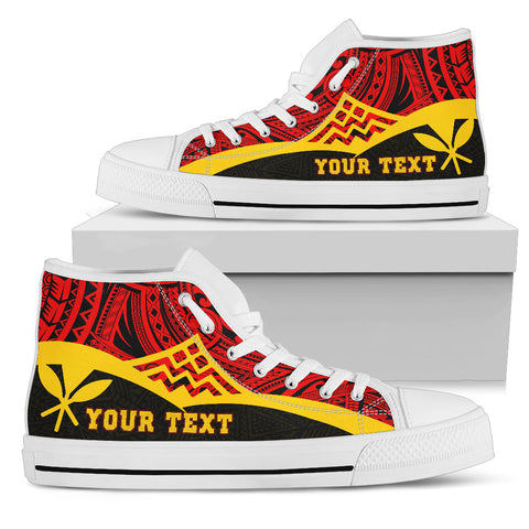 Hawaii Custom Personalised High Top Shoes - Protect Mauna Kea