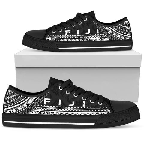 Men's Fiji Low Top Shoes - Polynesian Black Chief Version