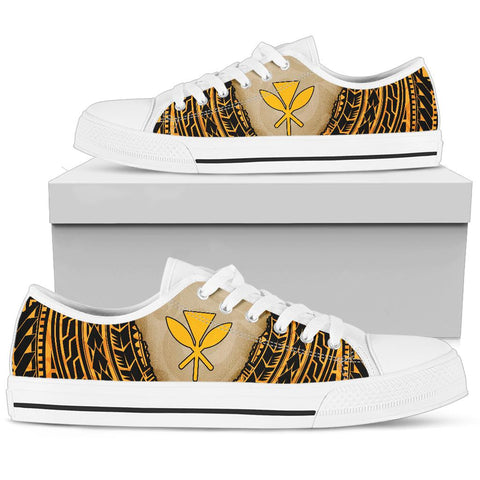 Image of Hawaii Low Top Shoe - Polynesian Wild Style - BN39