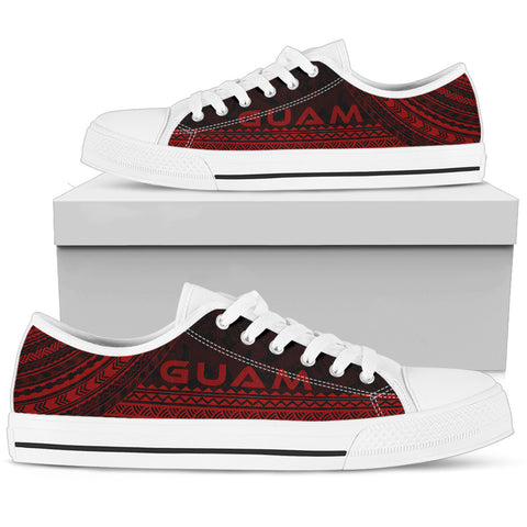 Men's Guam Low Top Shoes - Polynesian Red Chief Version