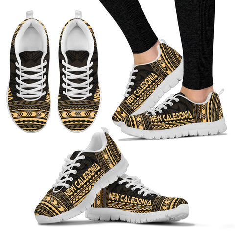 Women's New Caledonia Sneakers - Polynesian Chief Gold Version White