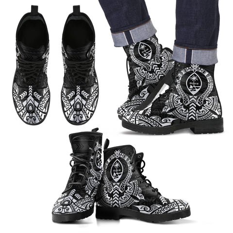 Guam Leather Boots - Tribal - BN04