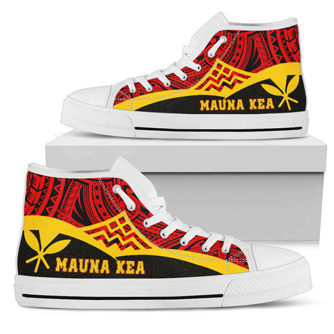 Hawaii High Top Shoes - Protect Mauna Kea - BN11