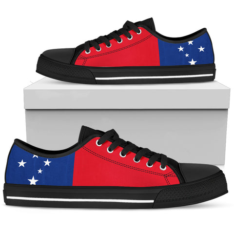 Samoa Flag Low Top Shoe Bn10