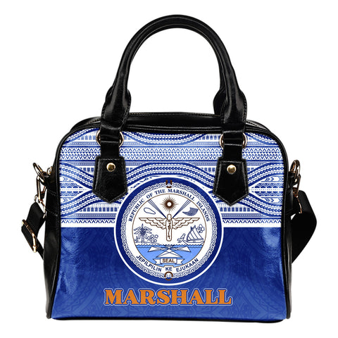 Marshall Islands Shoulder Handbag - Blue Version
