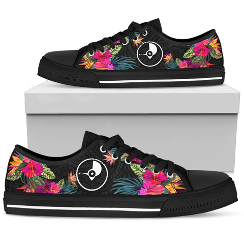 Yap Low Top Shoes - Micronesian Hibiscus