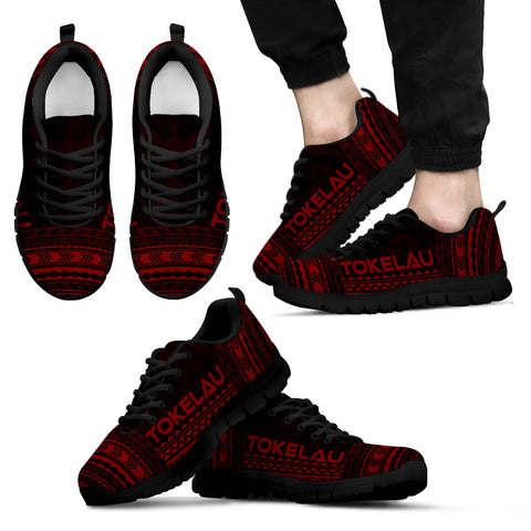 Men's Tokelau Sneakers - Polynesian Chief Red Version Black