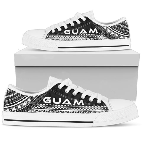 Men's Guam Low Top Shoes - Polynesian Black Chief Version