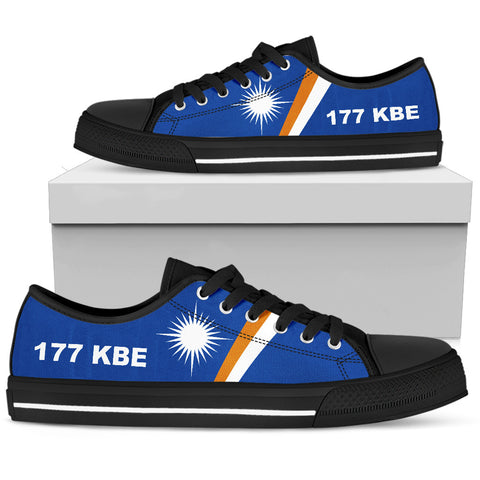 Marshall Islands Low Top Shoes - 177 KBE - A16