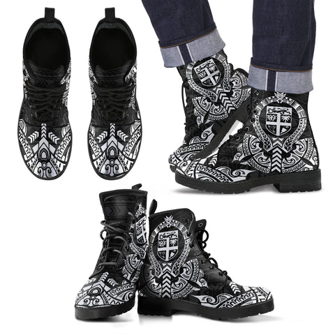 Fiji Leather Boots - Tribal - BN04