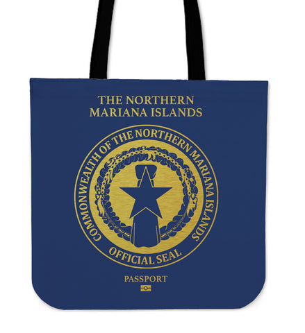 The Northern Mariana Islands Passport Tote Bag - BN04