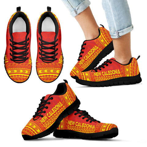 Kid's New Caledonia Sneakers - Polynesian Chief Flag Version Black