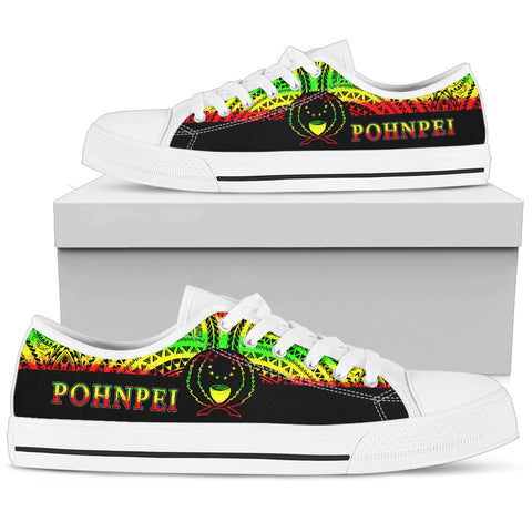 Pohnpei Low Top Shoes - Micronesian Reggae Style - BN09