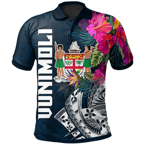 Image of Tonga Fiji Polo Shirt - Summer Vibes - BN15