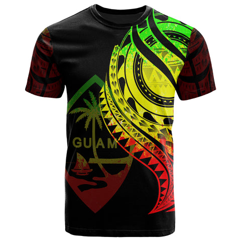Image of Guam T-Shirt - Best Guam Ever Reggae Color