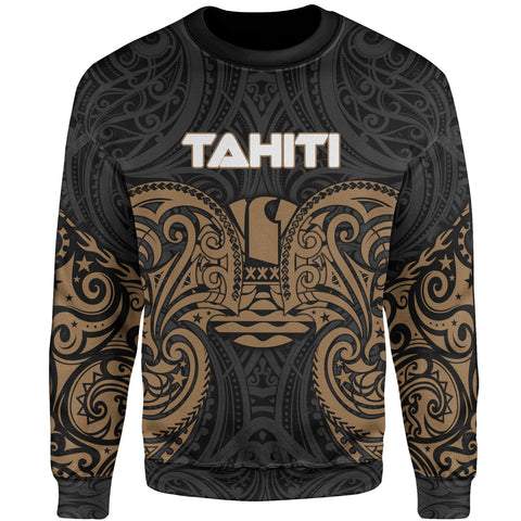 Image of Tahiti Polynesian Sweater - Spirit Style Gold
