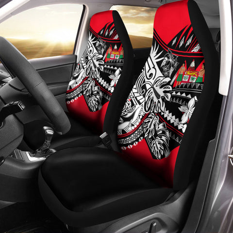 Fiji Car Seat Cover - Tribal Jungle Pattern - BN20