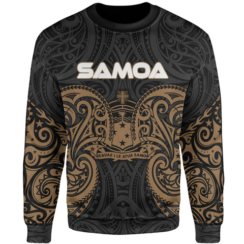 Image of Samoa Polynesian Sweater - Spirit Style Gold