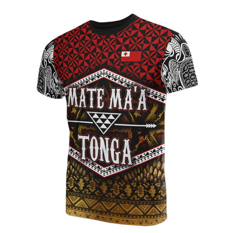 Image of Mate Ma'a Tonga T-Shirt